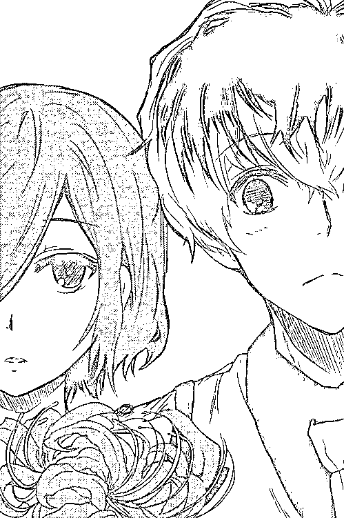 Kaneki Y Touka Para Colorear E Imprimir Anime Datos