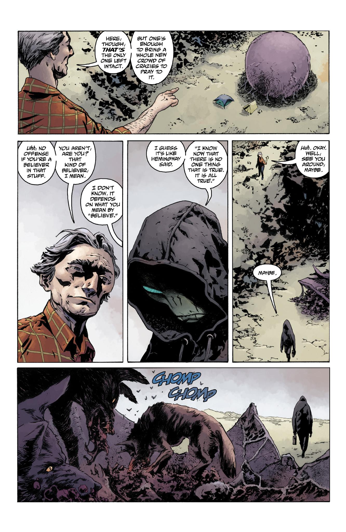 Read online Abe Sapien comic -  Issue #4 - 10