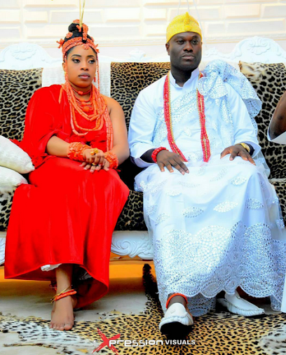Photos Of Ooni Of Ife With His New Bride, Wuraola