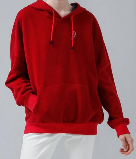 red hoodie 2017