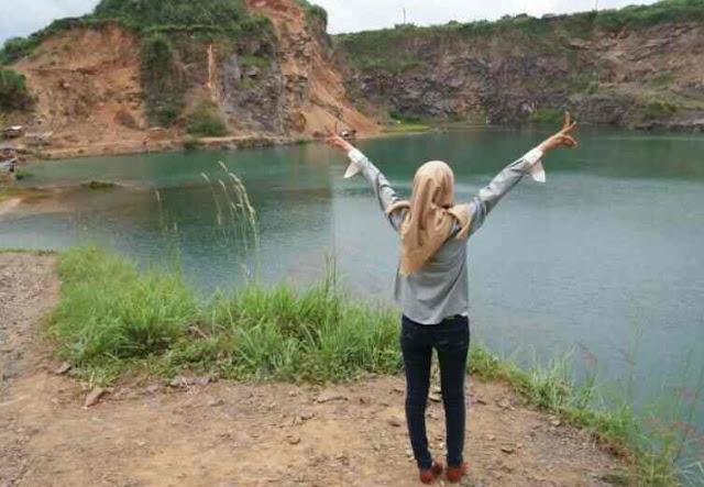 Tempat Keren di Bogor, Danau Quarry Jayamix