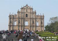 Ruins St. Paul - Hongkong Macau Shenzhen Tour Package - Salika Travel