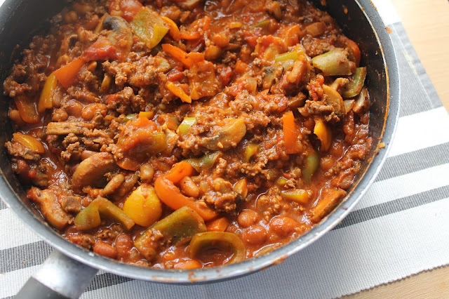 Chilli made with Muscle Food