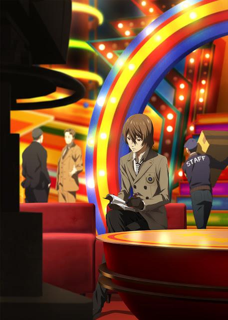 """Goro Akechi en un nueva imagen promocional de """"Persona 5 the Animation""""."""