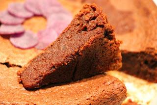 Brownies pomme de terre Vitelotte