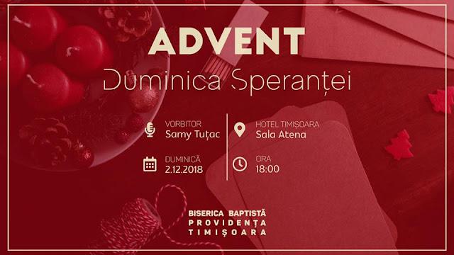 Duminica Sperantei la Biserica Providența Timișoara