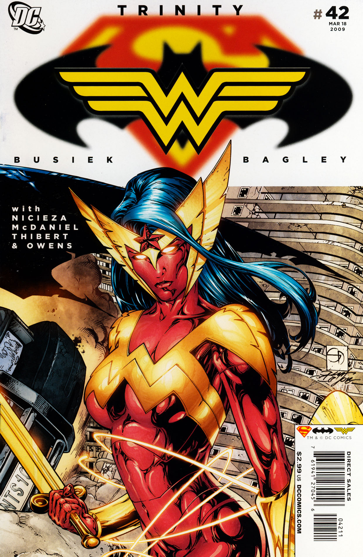 Read online Trinity (2008) comic -  Issue #42 - 1