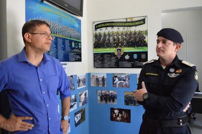 Guarda Municipal de Aracaju (SE) é referência em outros estados