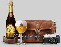 Logo Concorso Leffe: vinci gratis macchina fotografica, forniture e box