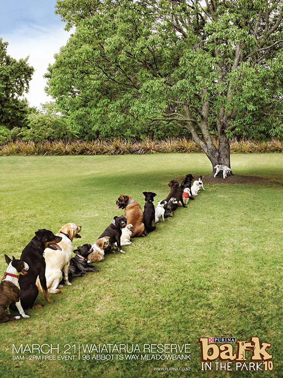 Purina Bark in the Park:Tree