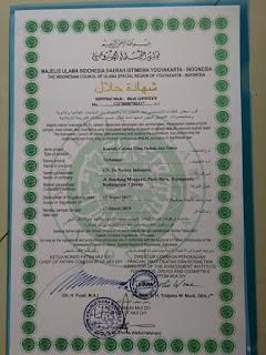 sertifikasi halal MUI