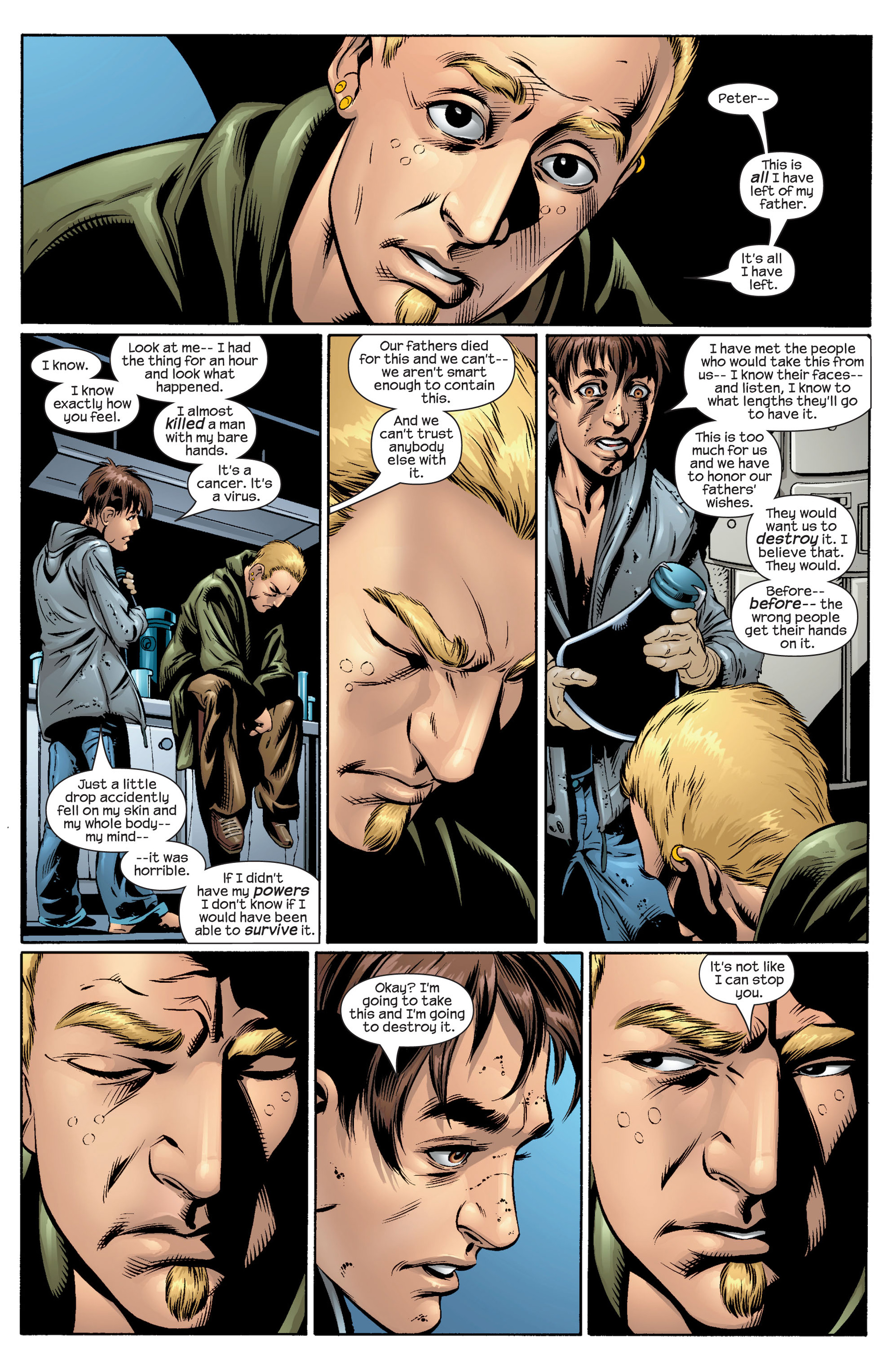 Read online Ultimate Spider-Man (2000) comic -  Issue #36 - 13