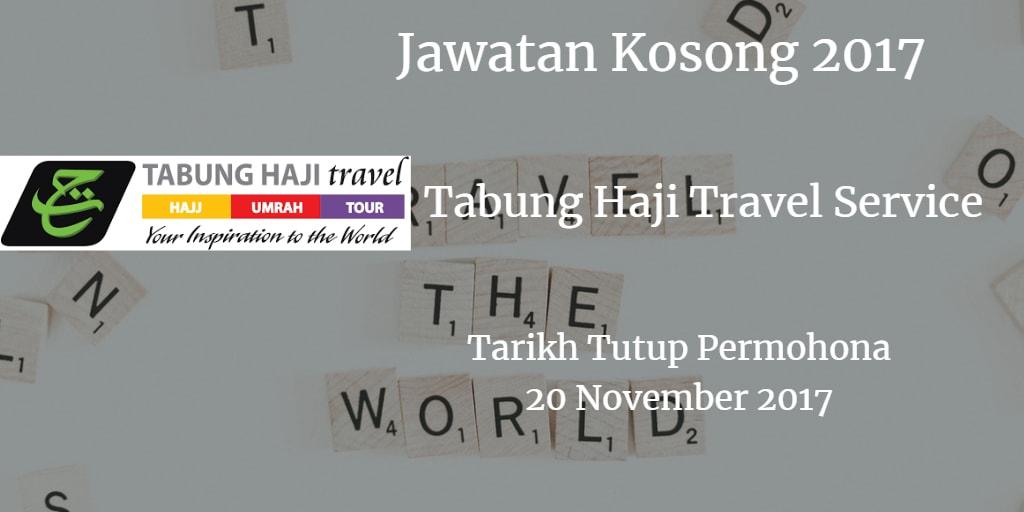 Jawatan Kosong Tabung Haji Travel Service 20 November 2017