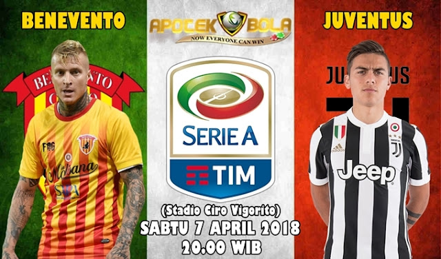 Prediksi Benevento vs Juventus 7 April 2018