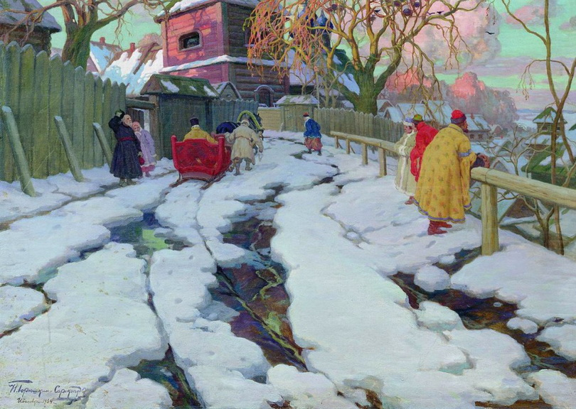 Ivan Goryushkin-Sorokopudov [Горюшкин-Сорокопудов Иван Силыч ] 1873-1954 - Russian painter