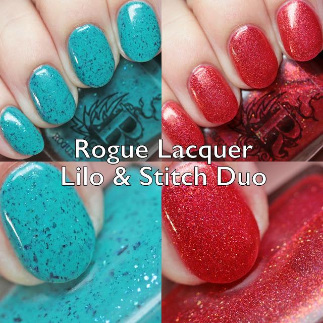Rogue Lacquer Lilo & Stitch Duo