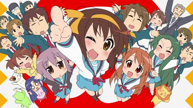 The Melancholy of Haruhi-chan Suzumiya - Best Chibi Anime Shows list
