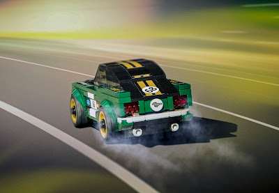 Ford & LEGO Add Vintage 1968 Mustang Fastback to LEGO Speed Champions Collection