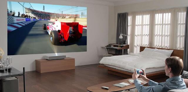 LG تكشف رسميا عن جهاز العرض LG CineBeam Laser 4K