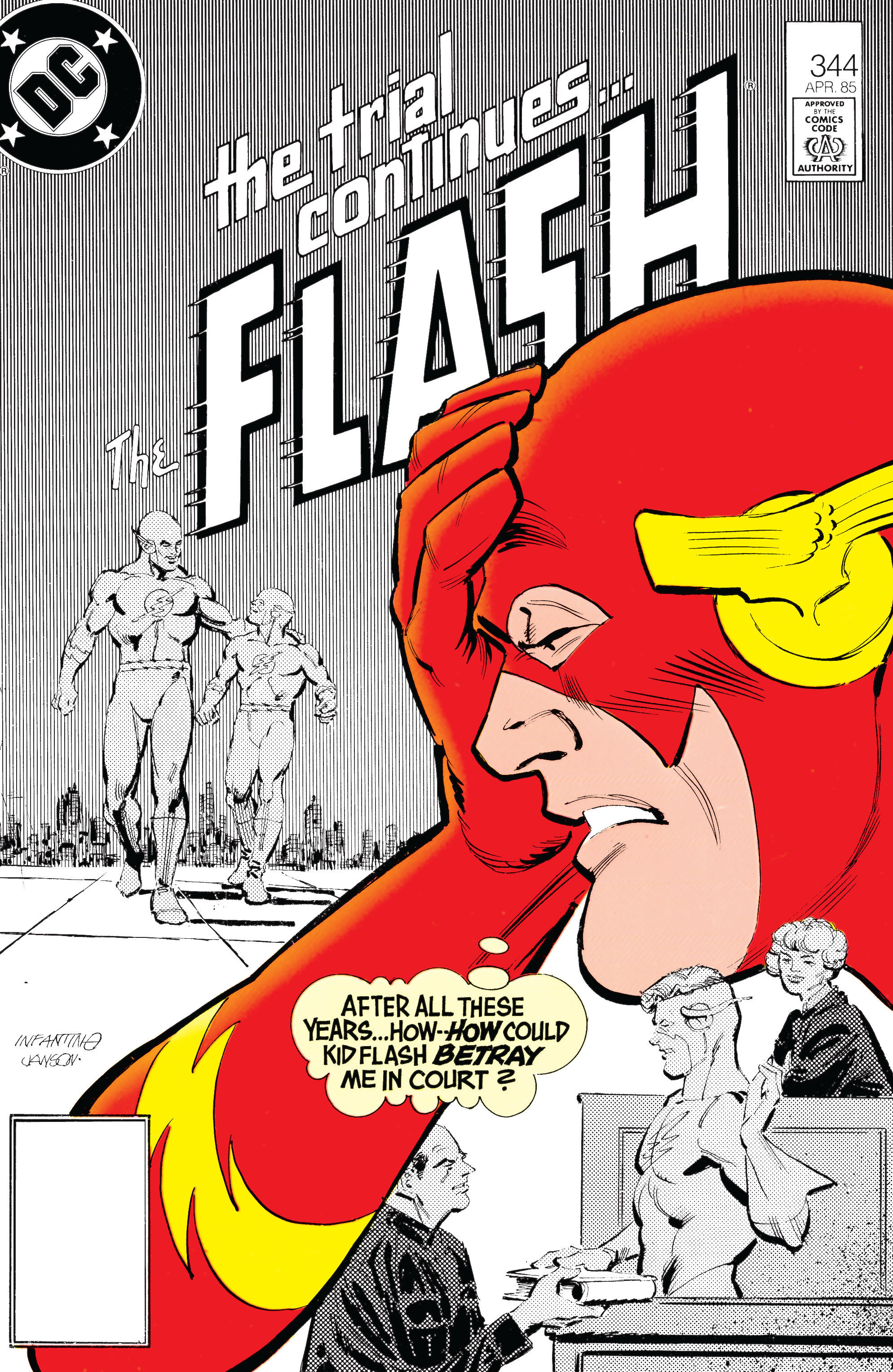 The Flash (1959) 344 Page 1