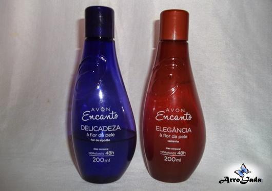 óleo Avon Encanto ArroJada Mix