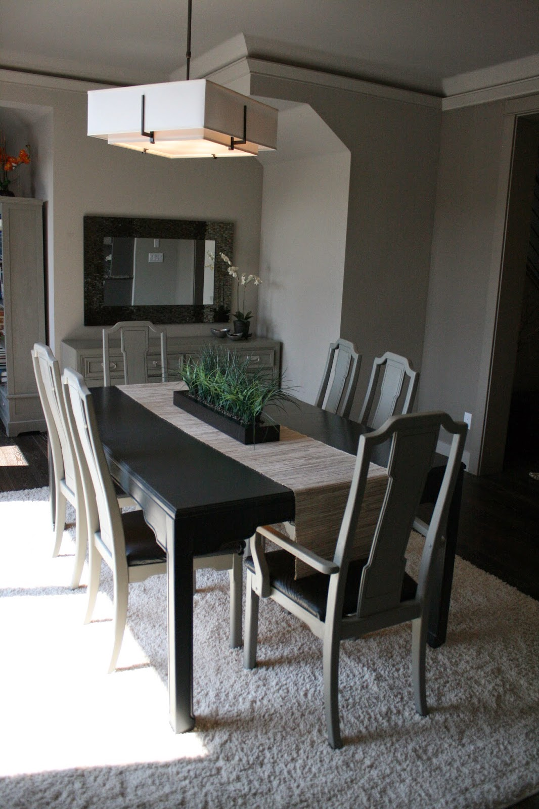 reloved rubbish fresh look for old dining room set. Black Bedroom Furniture Sets. Home Design Ideas