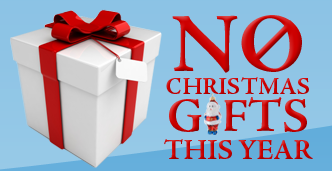 Not Buying Anything No Christmas Gifts Please