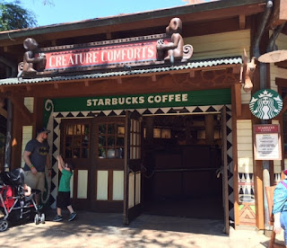 Where is Starbucks at animal kingdom