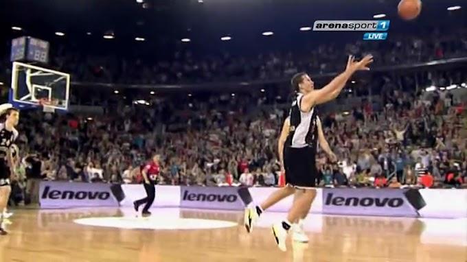 Dan najluđe pobede i najtžeg poraza košarkaša Partizana! (VIDEO)