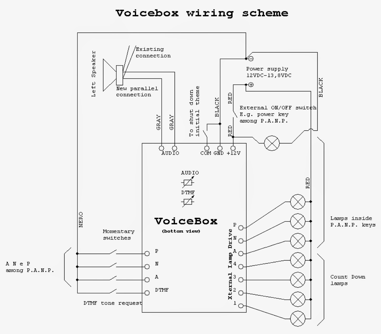 wiring diagrams 2 vcrs tv video