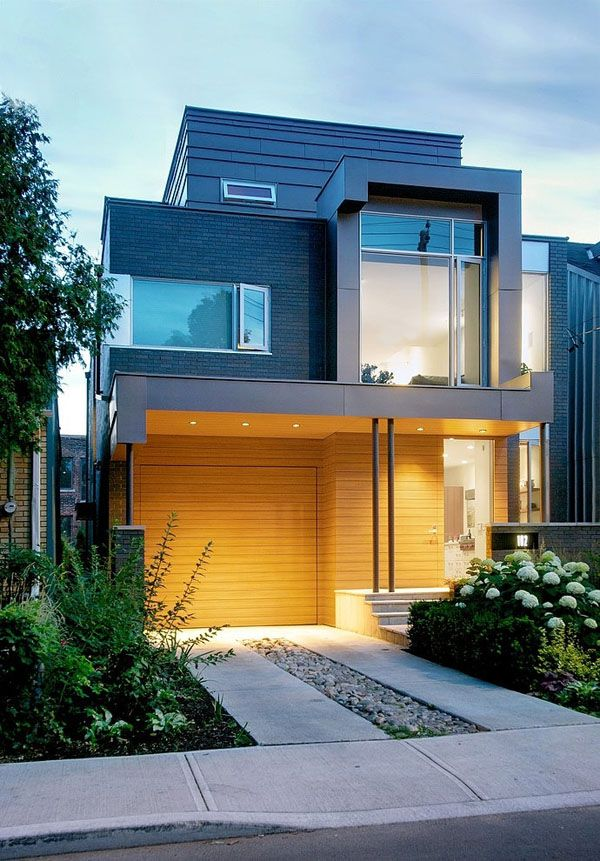 Fachadas de casas modernas como valorizar seu im vel for Fotos de patios de casas pequenas