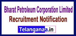 BPCL (Bharat Petroleum Corporation Limited) Recruitment Notifcation 2017 Last Date 08-06-2017