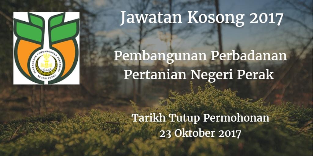 Jawatan Kosong PPPNP 23 Oktober 2017
