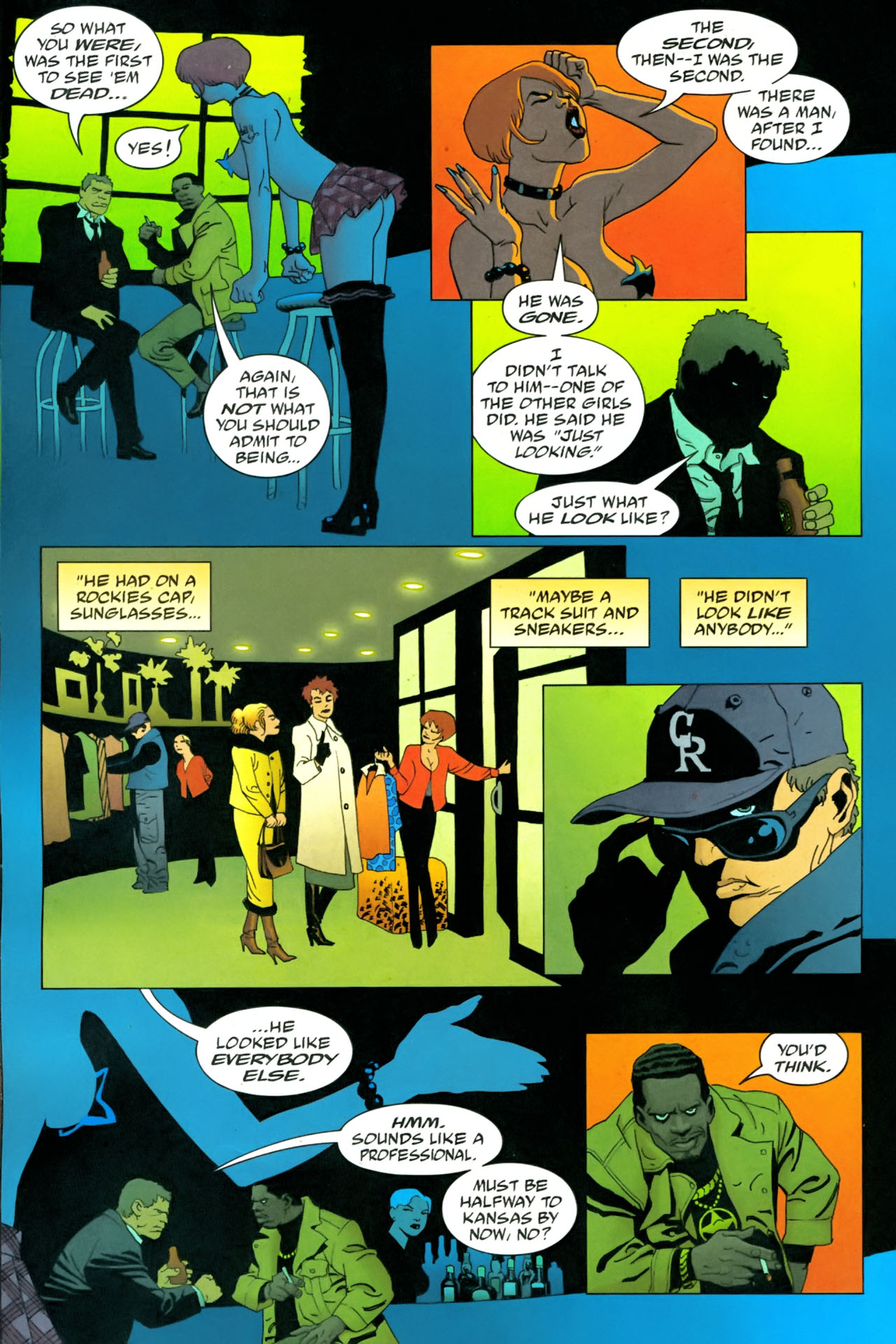 Read online 100 Bullets comic -  Issue #86 - 13