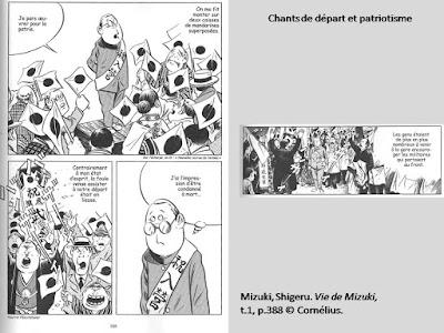 Mizuki, Shigeru. Vie de Mizuki, t.1, p.388.  © Cornélius.