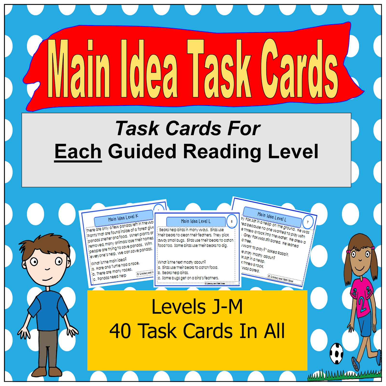 Literacy Amp Math Ideas Task Cards Organized By Guided Reading Level