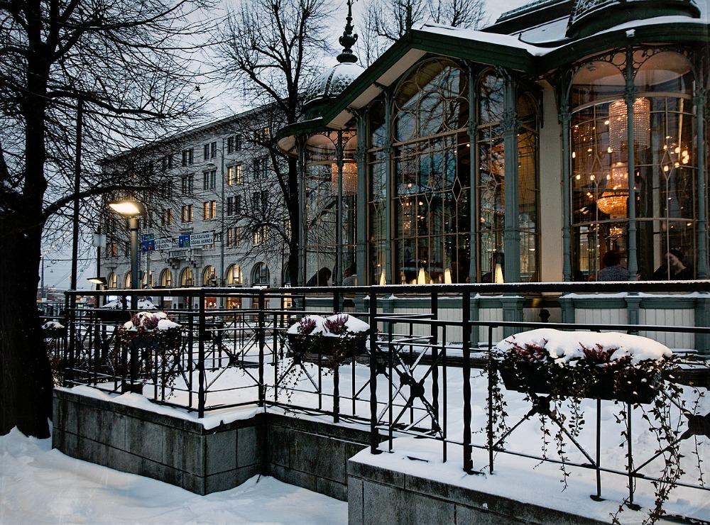 Helsinki, talvi, Kappeli