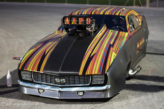 New Jerry Bickel Built Pro Nitrous 1969 Camaro arived in Qatar for KH