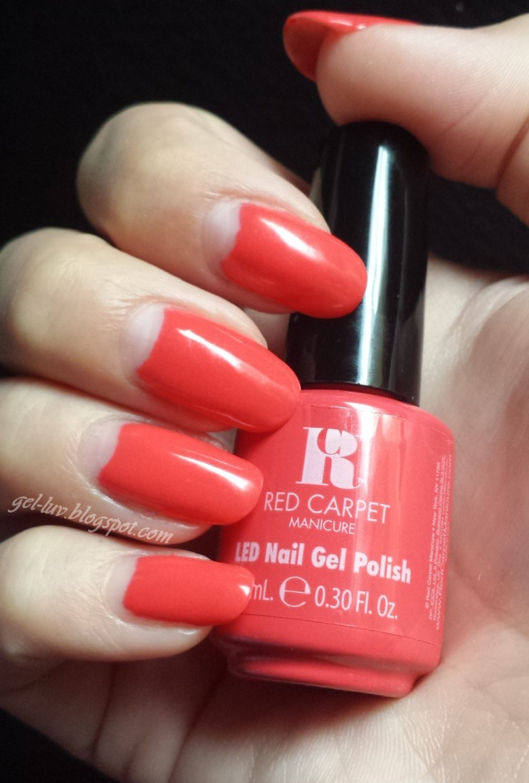 Gel Luv A Gel Polish Blog Red Carpet Manicure Quot Mimosas