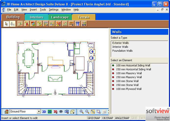 3d home architect design deluxe 8. 3d Home Architect Design Deluxe 8 Home Architect 4 0 Design Software