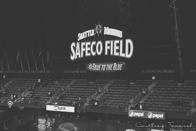 Courtney Tomesch Seattle Washington Safeco Field
