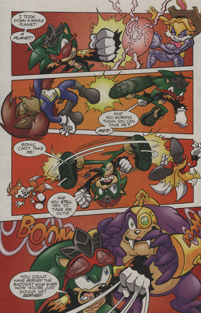 Read online Sonic The Hedgehog comic -  Issue #194 - 11