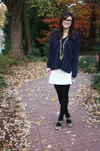 winter white, winter, 2016, knit, pearls, OOTD