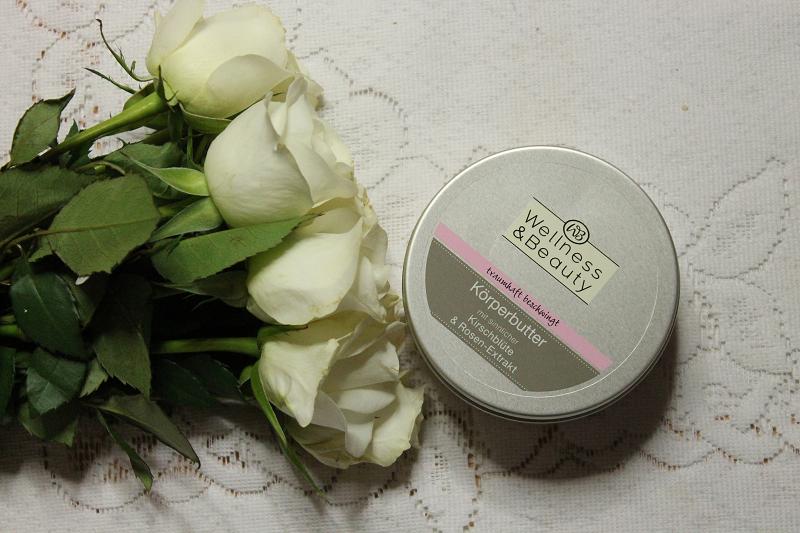 wellness & beauty masło do ciała z ekstraktem kwiatu wiśni i róży