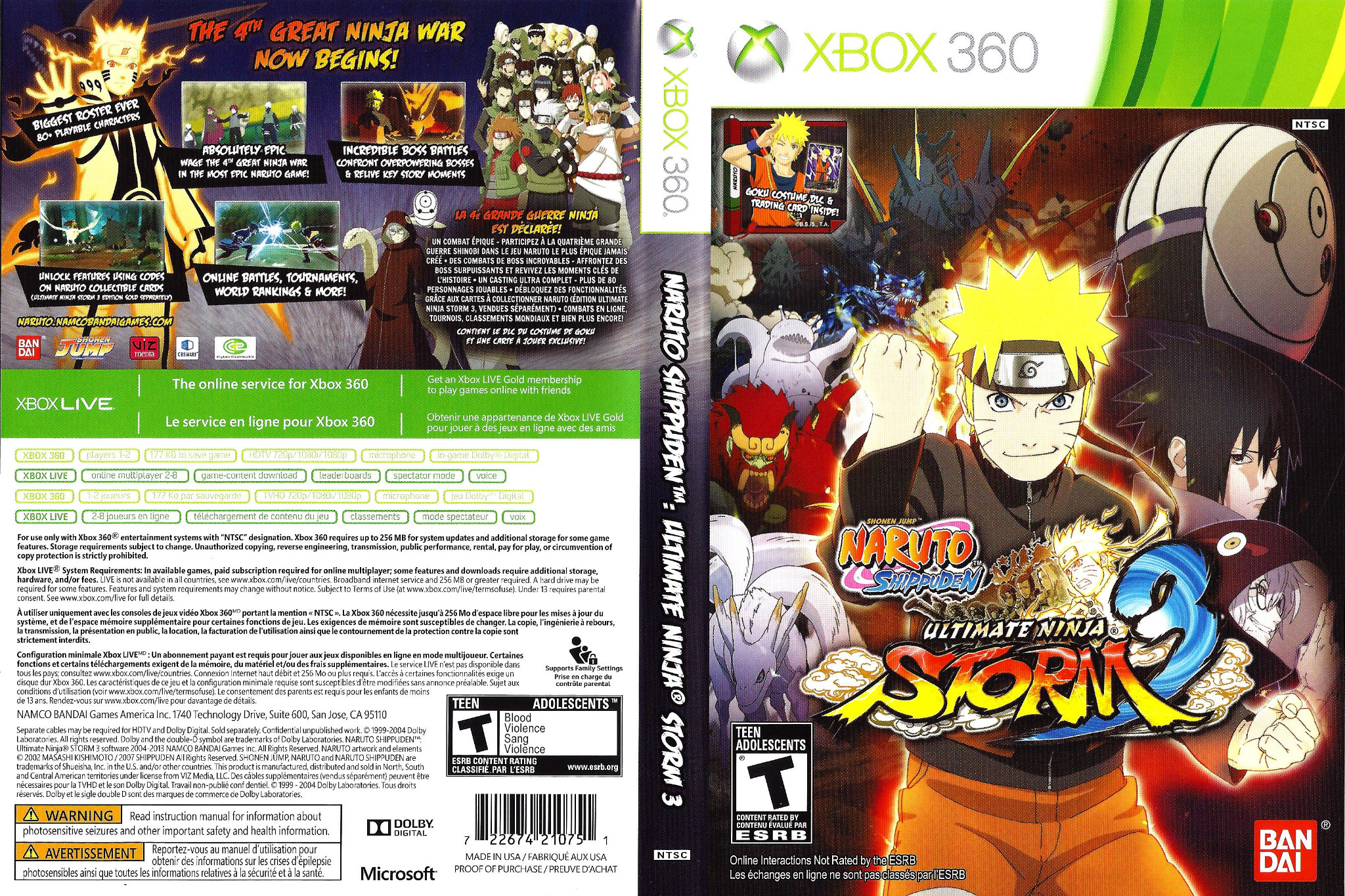 naruto ultimate ninja storm 3 awakening guide