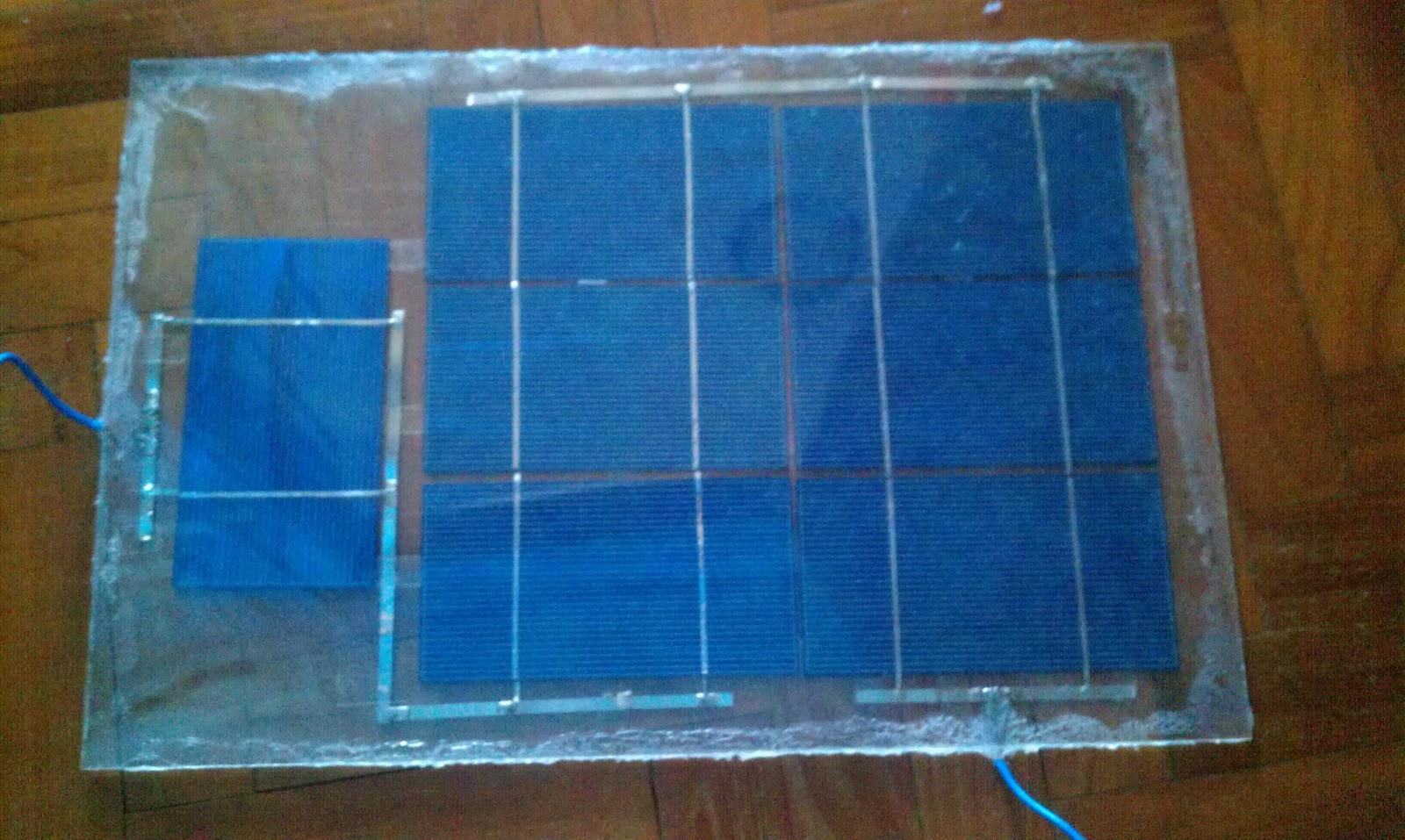 Homemade Solar Panel 5