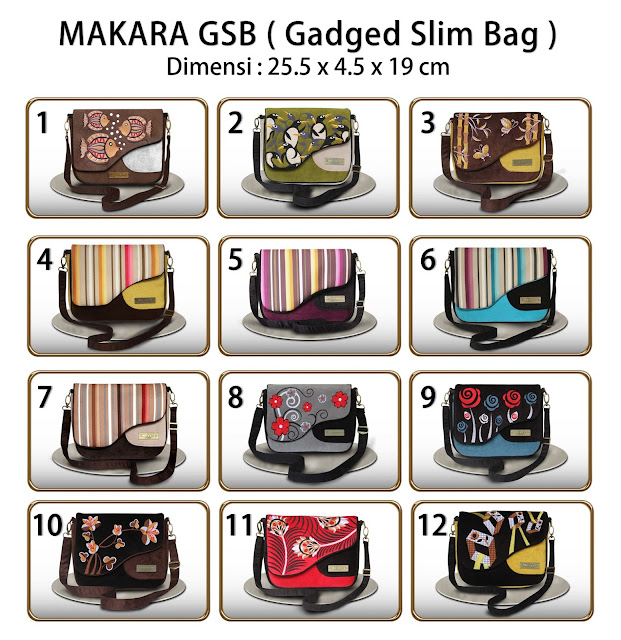 Gadged Slim Bag (GSB) Makara