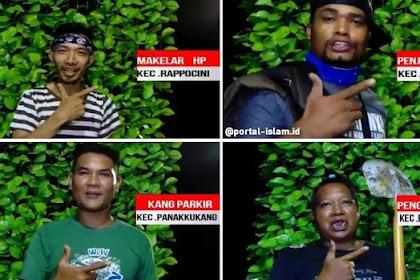 MANTULL...Video 15 Camat Dukung 01 Dilawan Video Parodi, dari Kang Parkir sampai Kang Gali Kubur