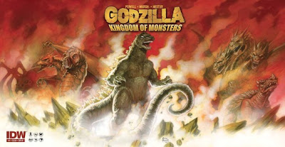Wednesday Comics on Thursday - Godzilla: Kingdom of Monsters - March 31, 2011