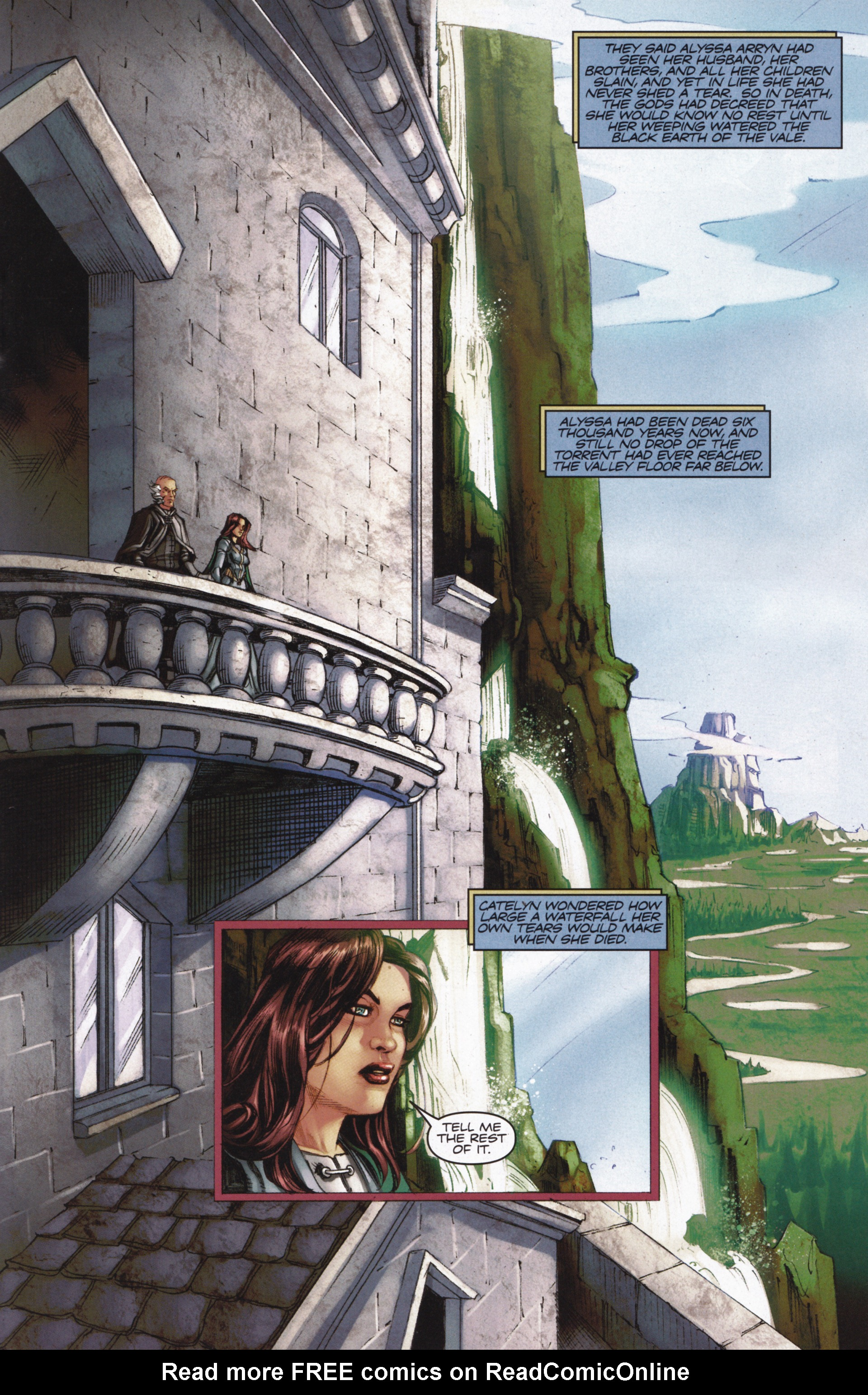 Read online A Game Of Thrones comic -  Issue #13 - 19